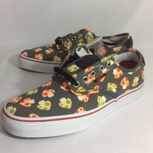 NWT Vans Chima Mario Mushrooms Unisex Sneakers